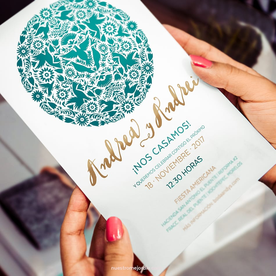 Mexican invitations