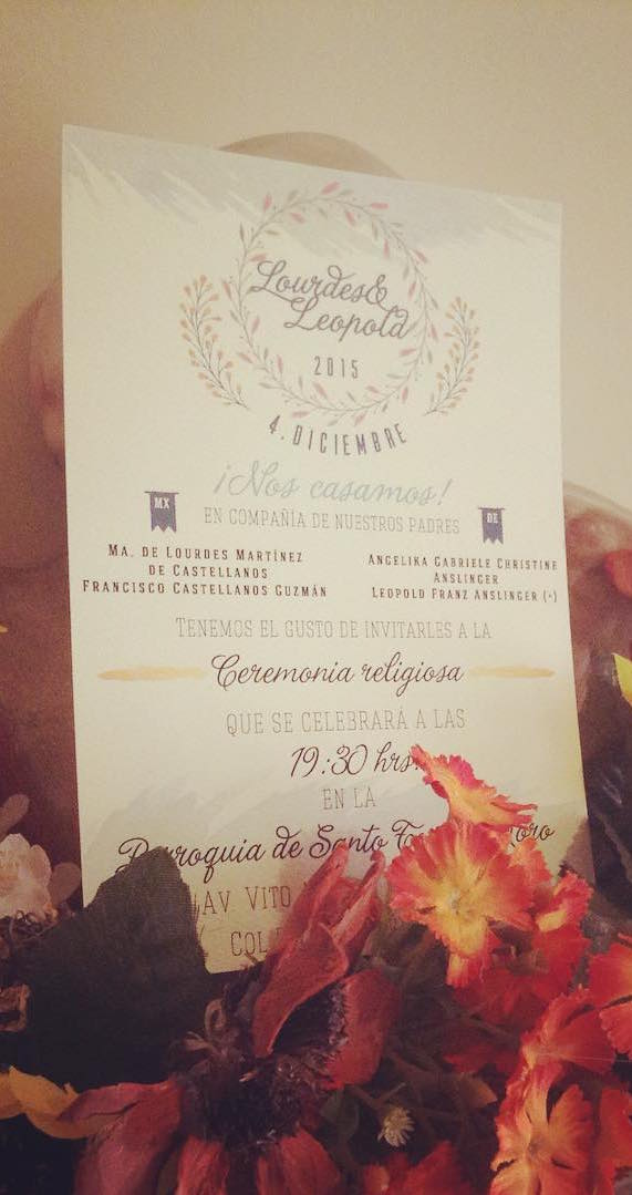 wedding invitations mexico