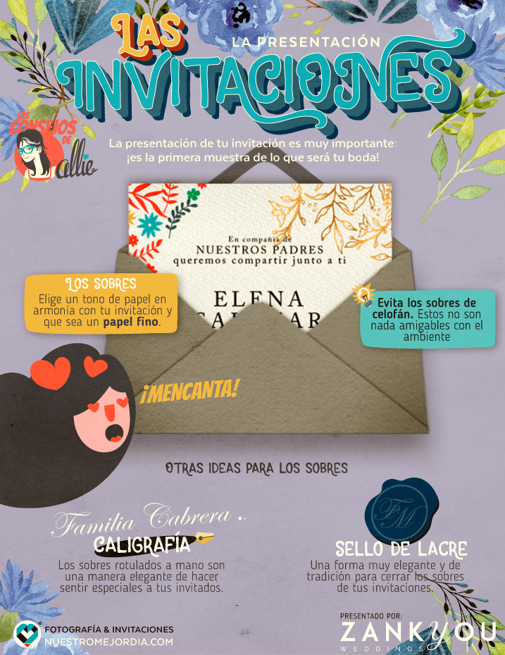 Ideas para invitaciones originales